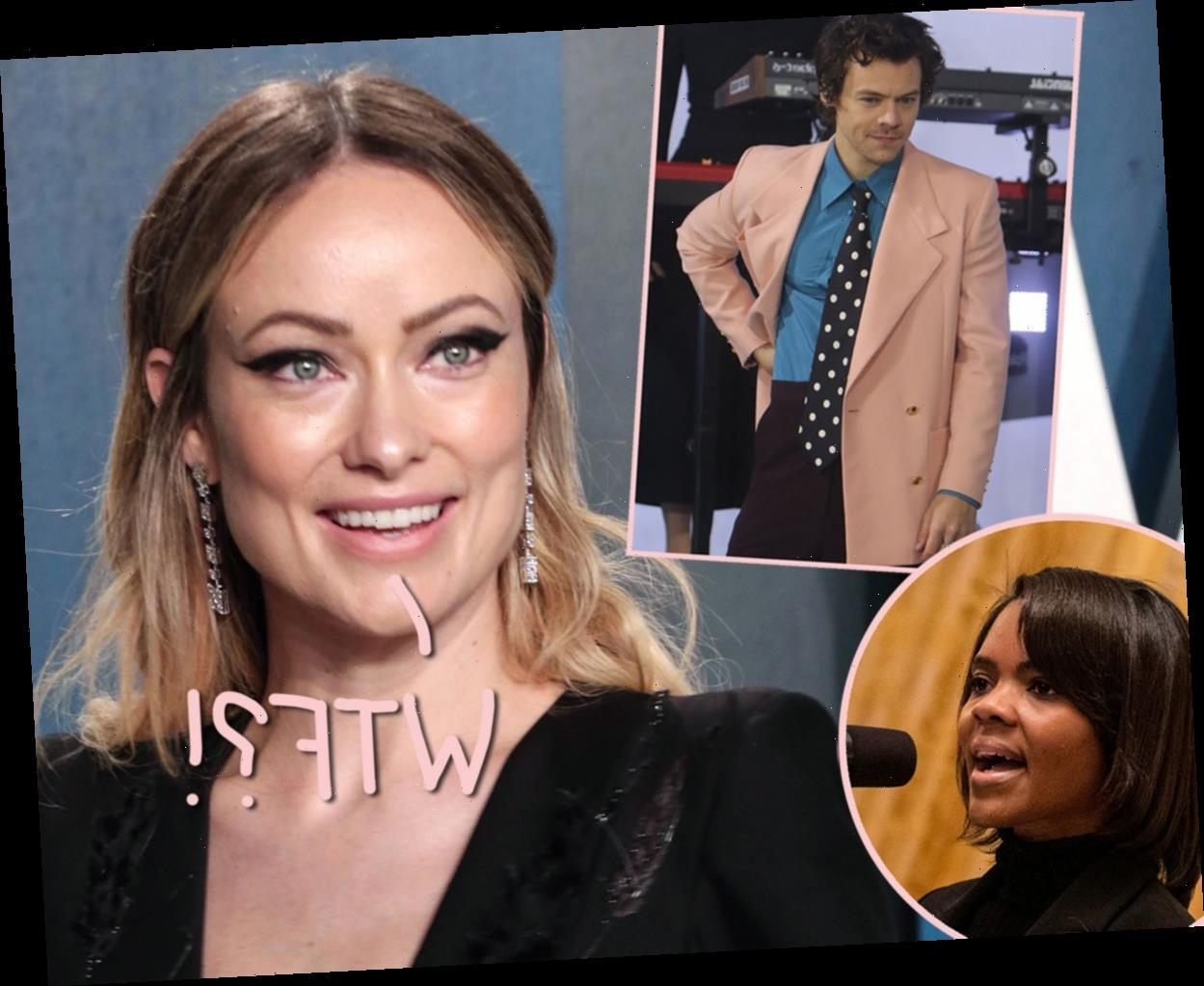 Olivia Wilde Defends Her Romantic Lead Harry Styles After Candace Owens Calls Wearing A Dress In Vogue An 'Attack'!