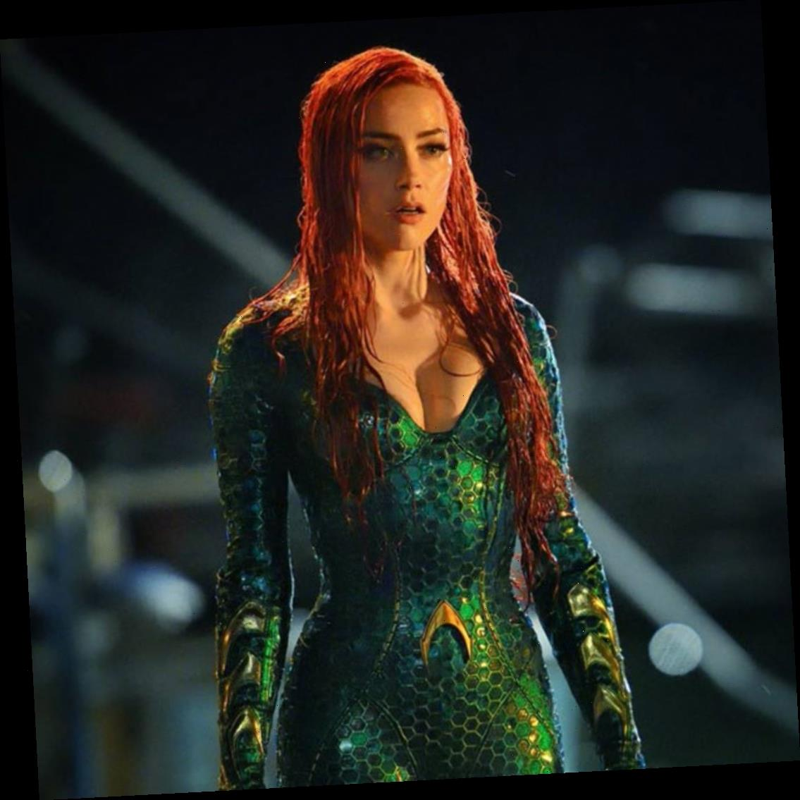 Amber Heard Shuts Down Rumors She's Not Returning for Aquaman 2