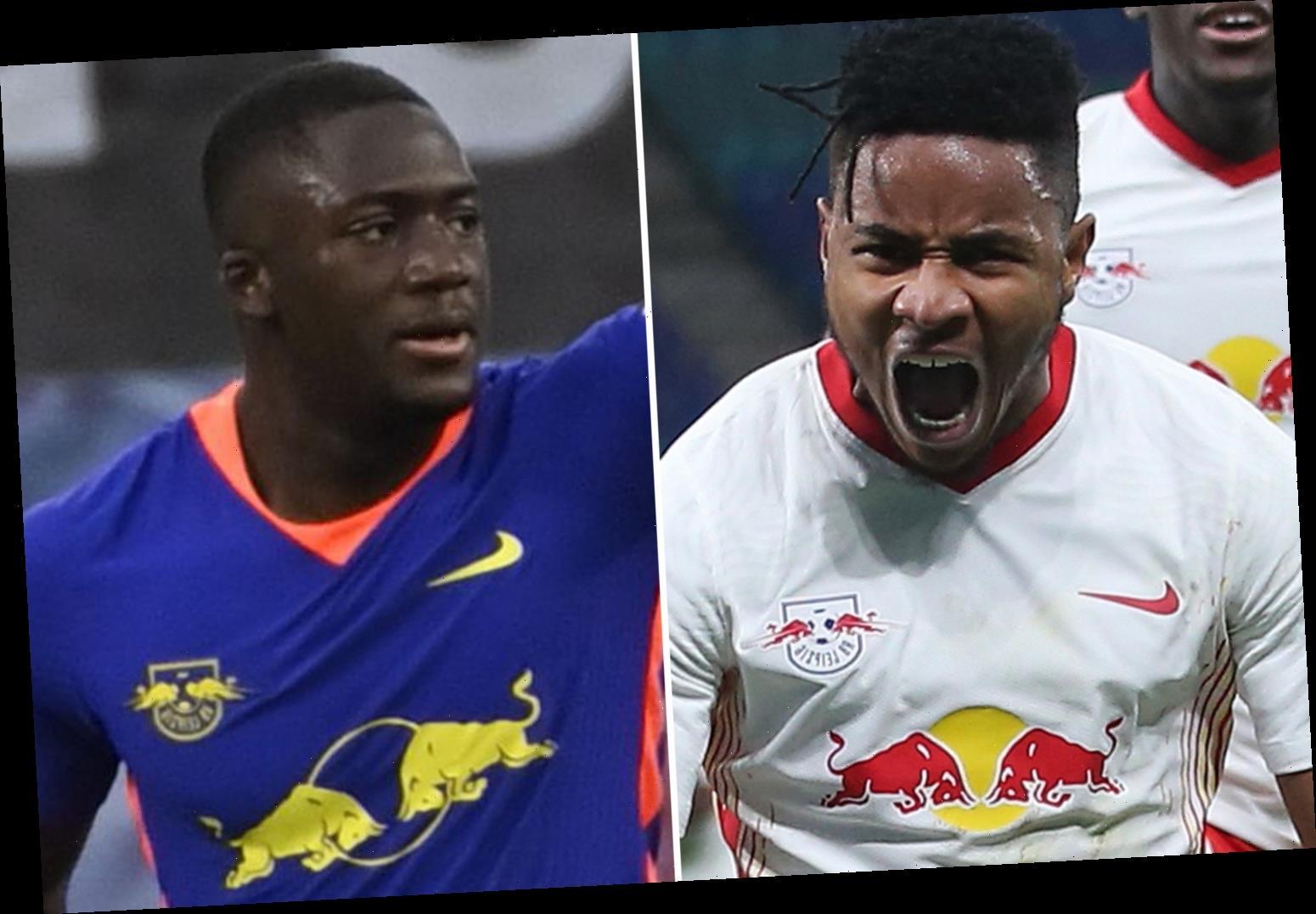 Arsenal eye RB Leipzig pair Ibrahima Konate and Christopher Nkunku in double transfer raid in bid to improve squad