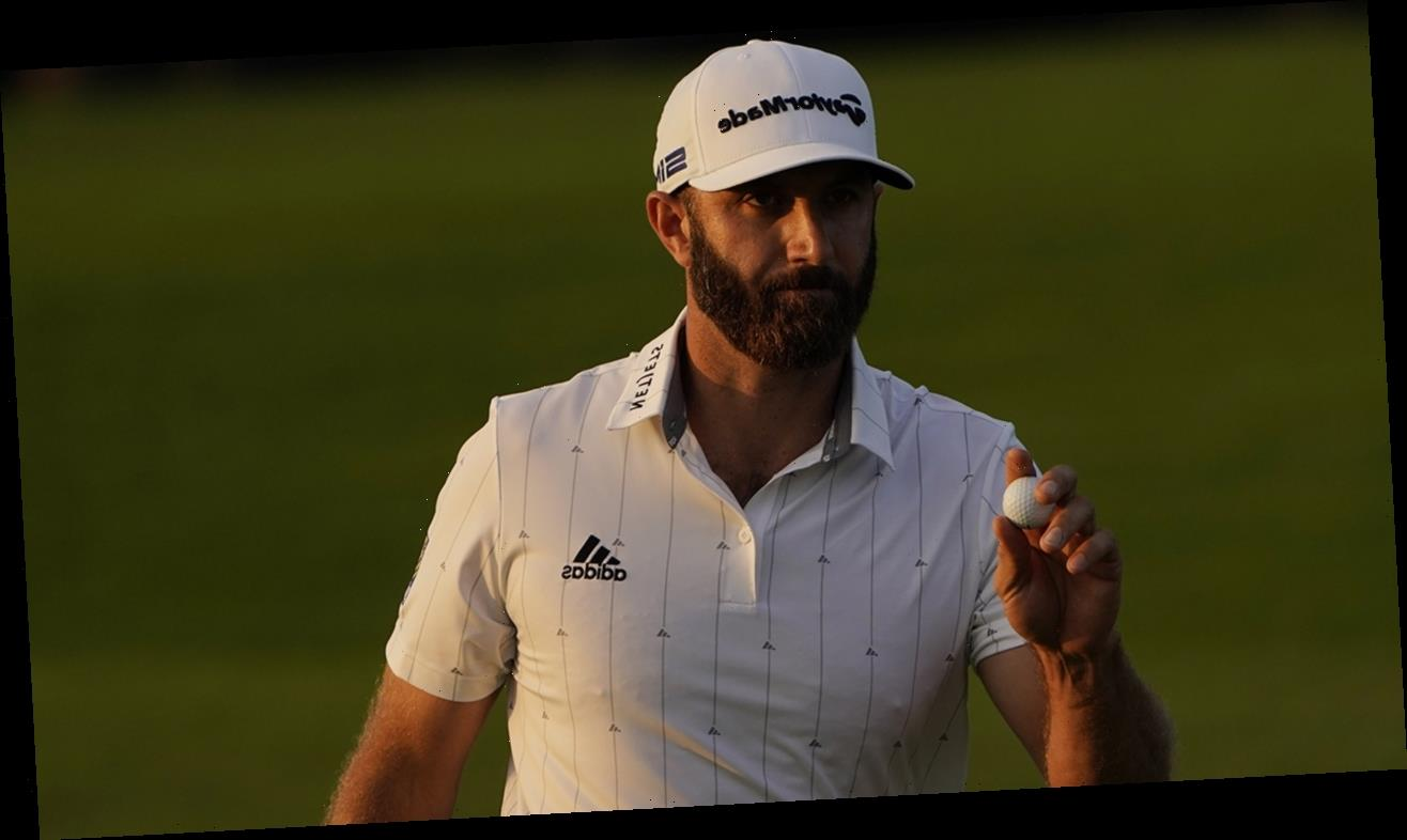 Dustin Johnson ties Masters 54-hole course record, takes comfortable lead to final day