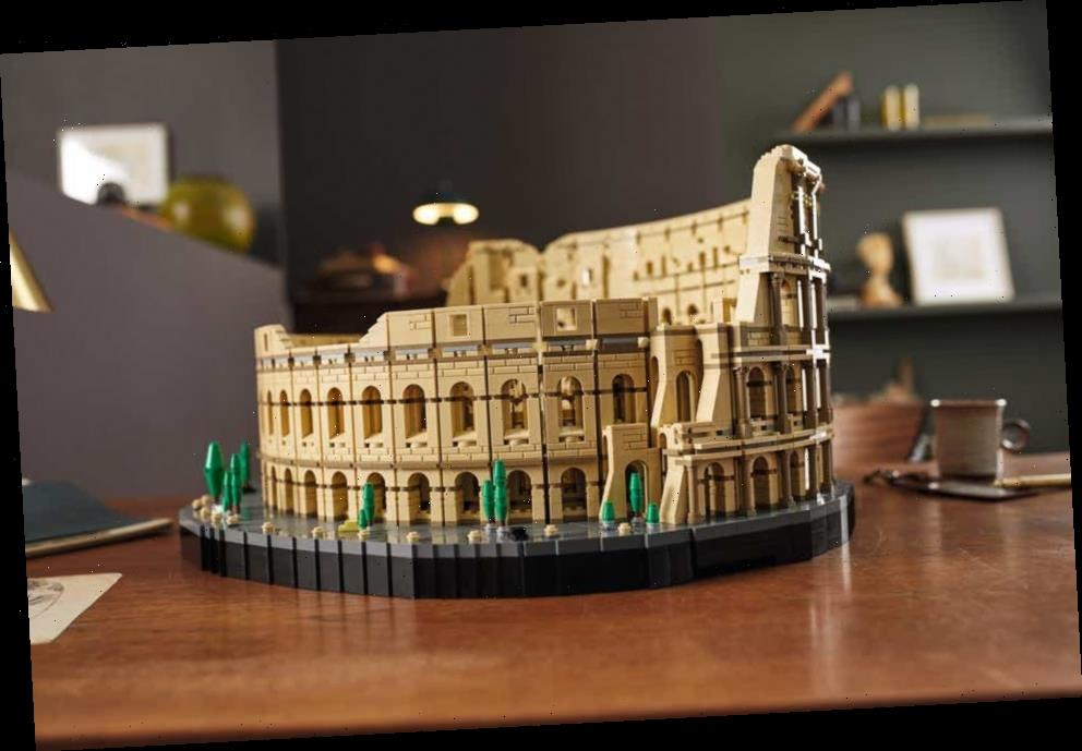 Lego to release Roman Colosseum kit, largest brick set ever created