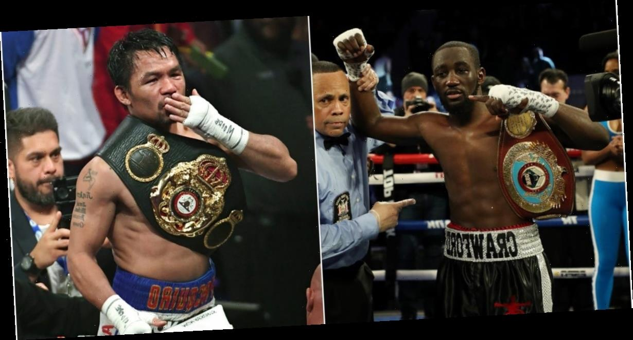 American fighter Terence Crawford still wants a big-money bout against Manny Pacquiao after his Kell Brook match this weekend