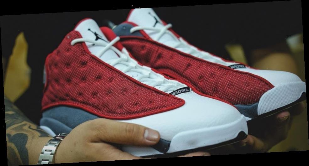 "Air Jordan 13 ""Red Flint"" Flips A Classic Style"
