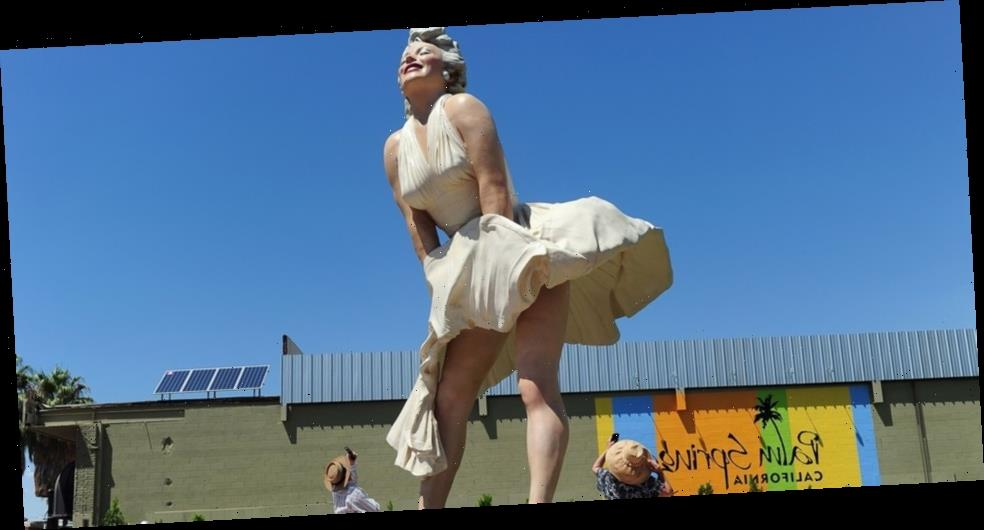 Giant Statue of Marilyn Monroe Sparks Controversy With California Locals