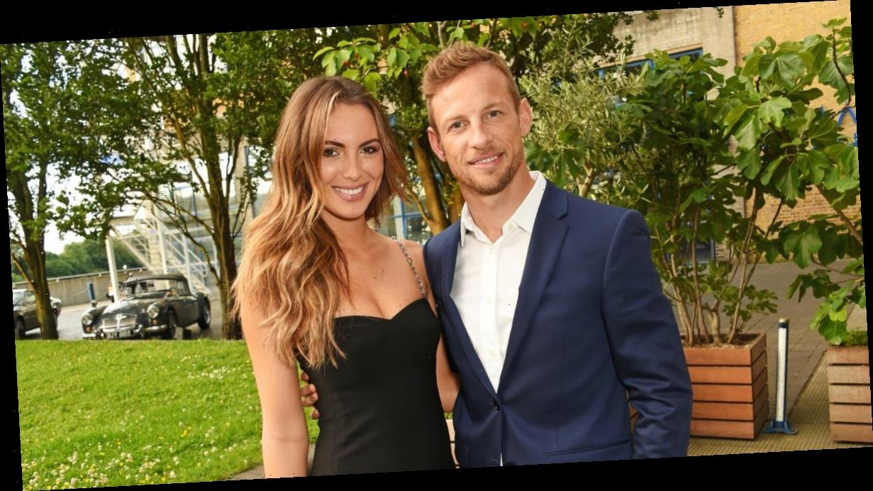 Jenson Button overjoyed as fiancée Brittny Ward gives birth to baby girl