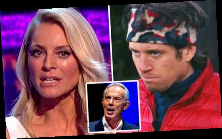 Tess Daly's fury over Vernon Kay's behaviour in front of Tony Blair: 'I didn't even look!'