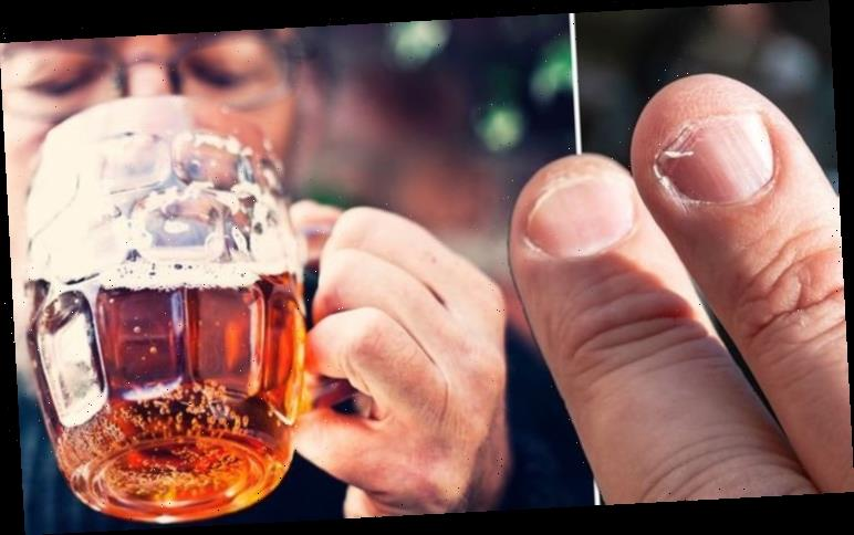 Have you been drinking more than usual over lockdown? Your fingernails may provide a clue