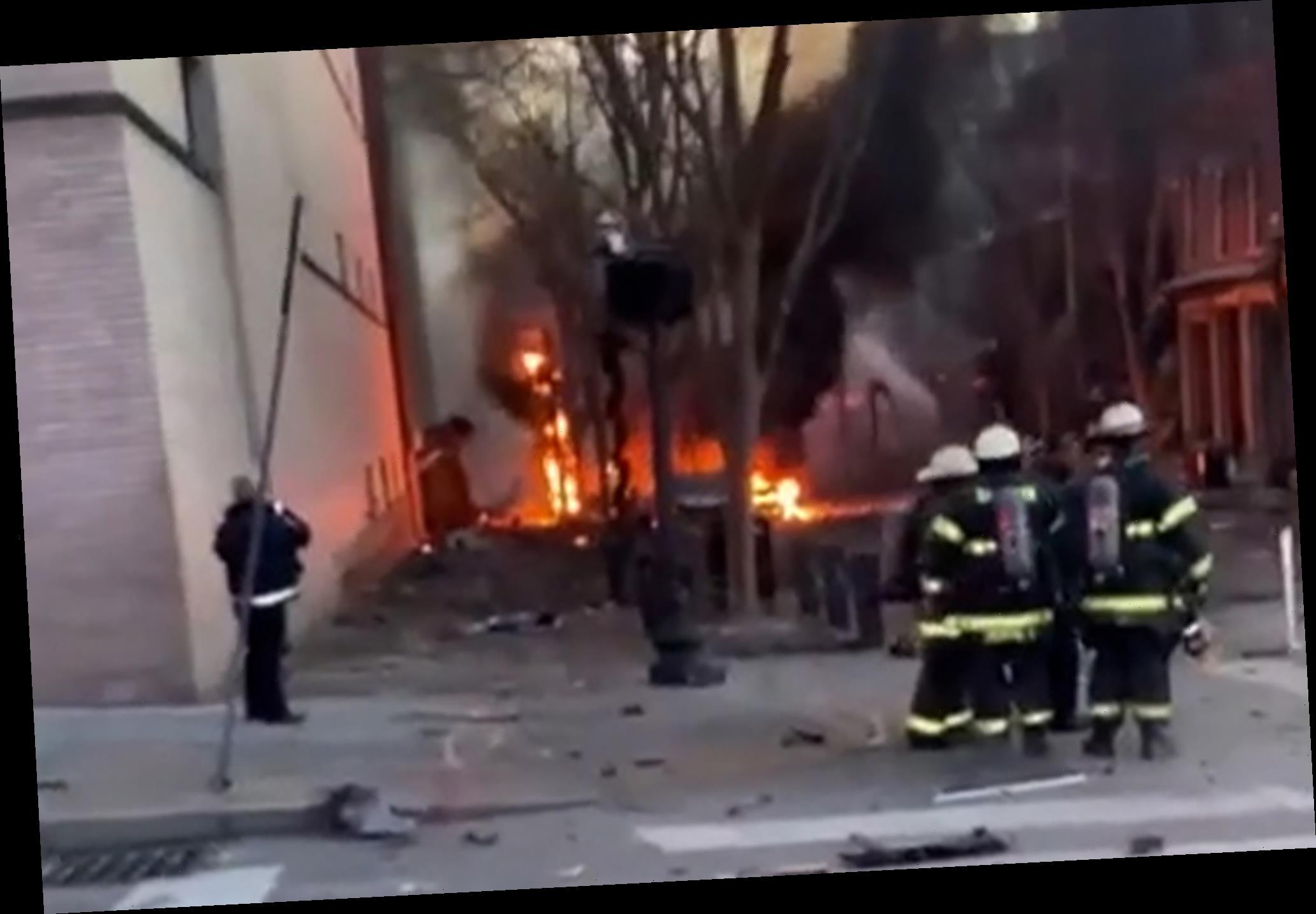 Distressing videos show devastation from Nashville explosion