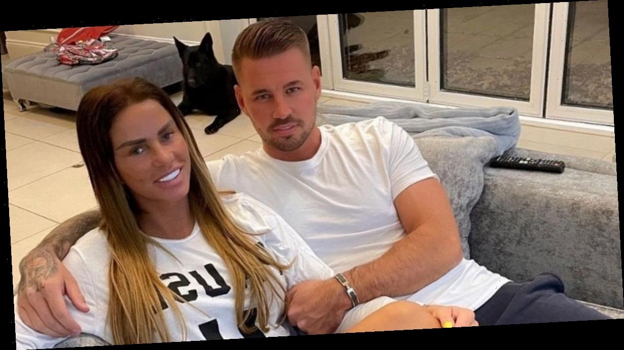 Katie Price slams claims she's pregnant saying she's 'happy and healthy'