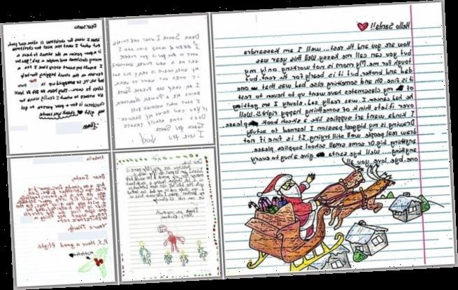 People are moved to tears after reading kids' letters to Santa