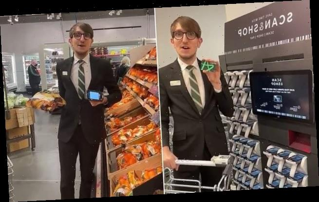 Marks & Spencer manager goes viral in hilarious TikTok video