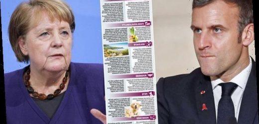 EU is at war over No Deal Brexit as Emmanuel Macron plays hardball