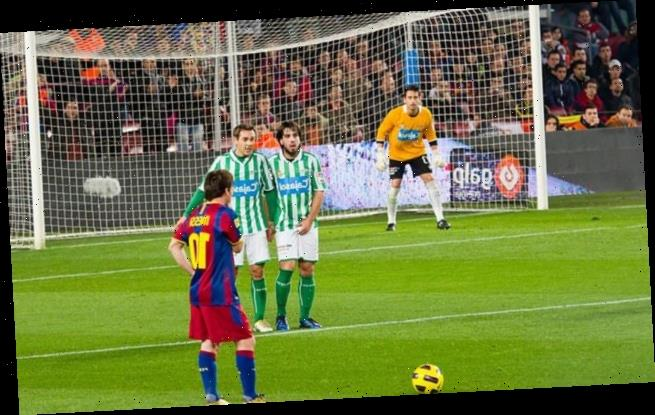 Goalkeepers' chances of saving a free kick ARE reduced by a 'wall'