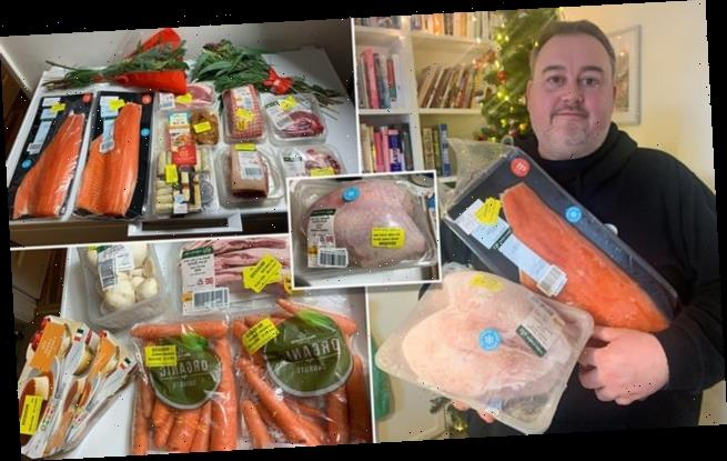 Father bought his family's Christmas dinner for just 50-pence per head