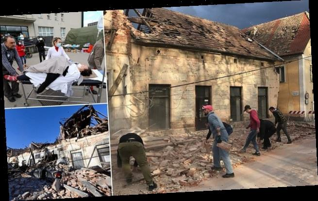 Child killed and many injured after earthquake strikes Croatia