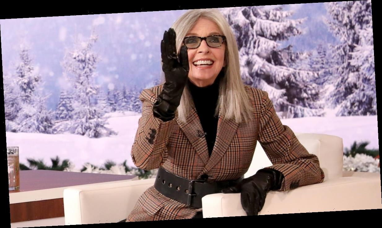 Watch Diane Keaton Drink Wine and Flirt with Audience Members on Ellen