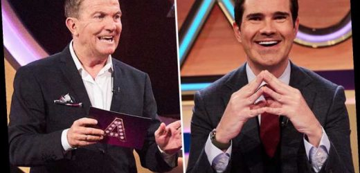 Bradley Walsh ripped apart by Jimmy Car as he throws Blankety Blank reboot off course with VERY rude question
