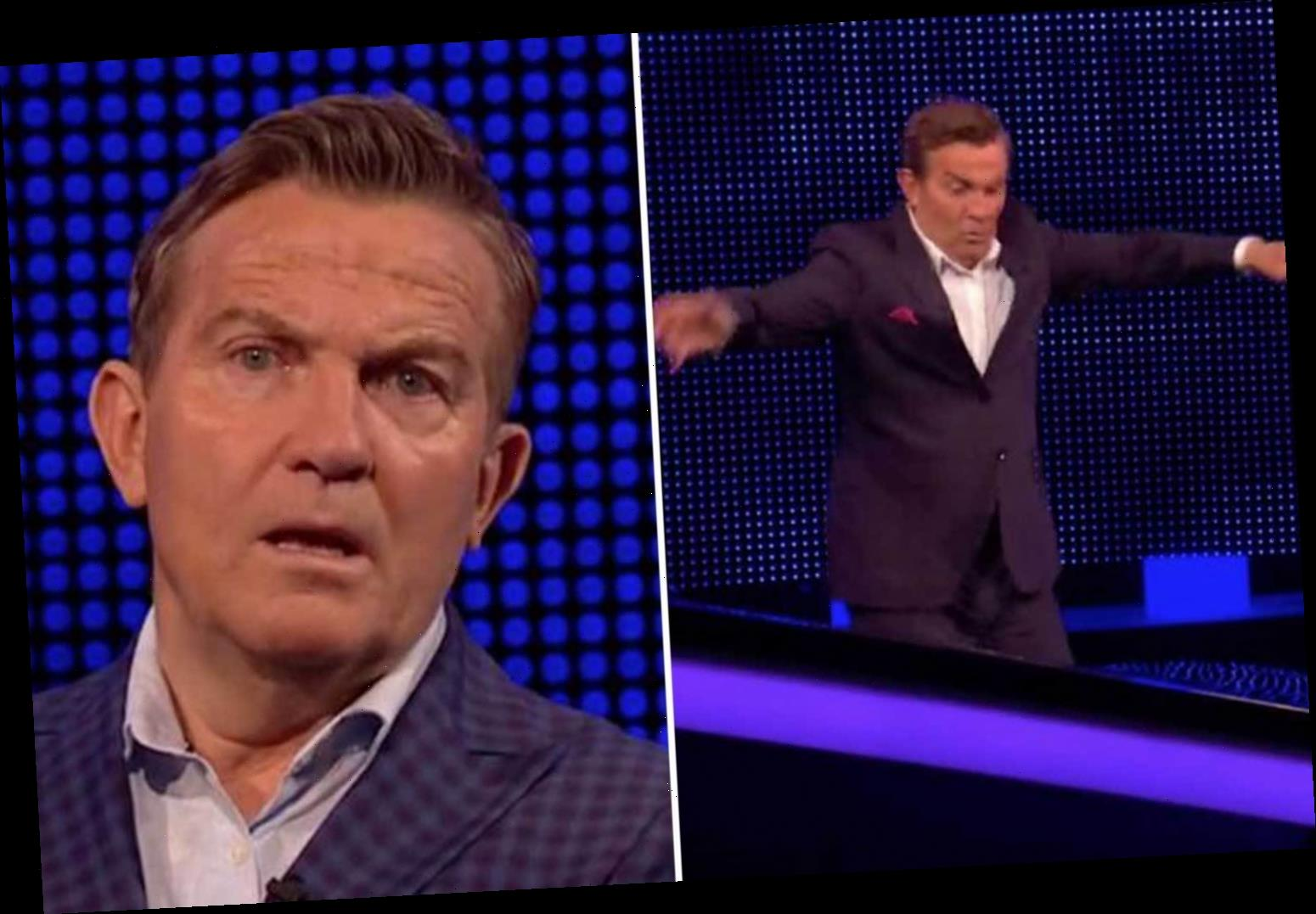 Bradley Walsh's most hilarious unseen bloopers – from his dirty jokes to falling off stage