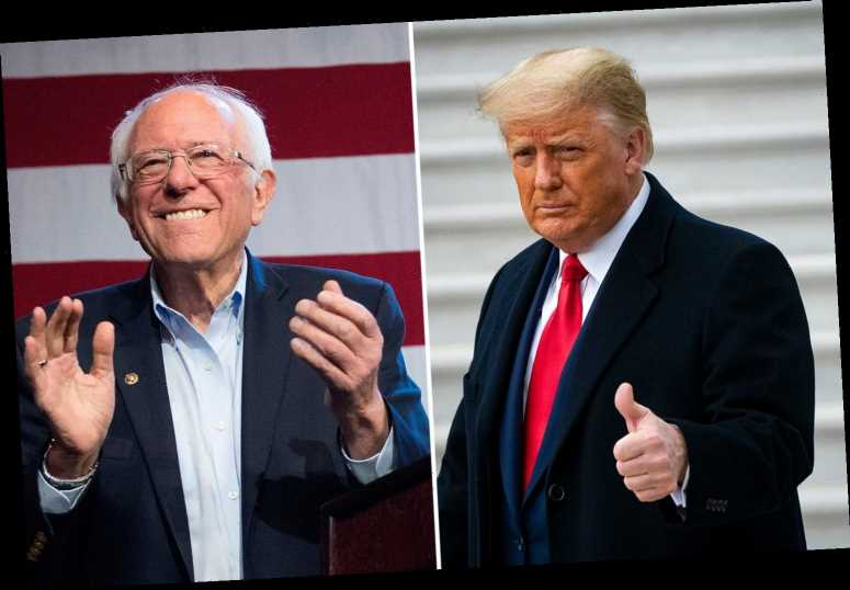 Donald Trump backs Bernie Sanders' plan to force Senate to sit until New Year to vote on $2,000 stimulus bill
