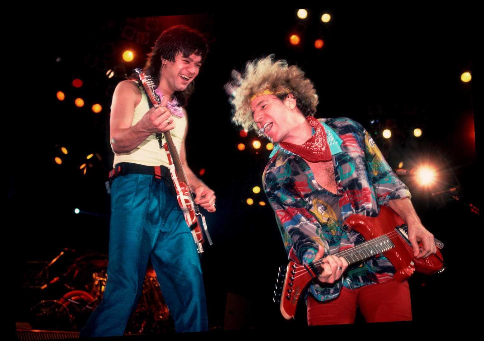 Sammy Hagar and Eddie Van Halen finally made peace during final phone call