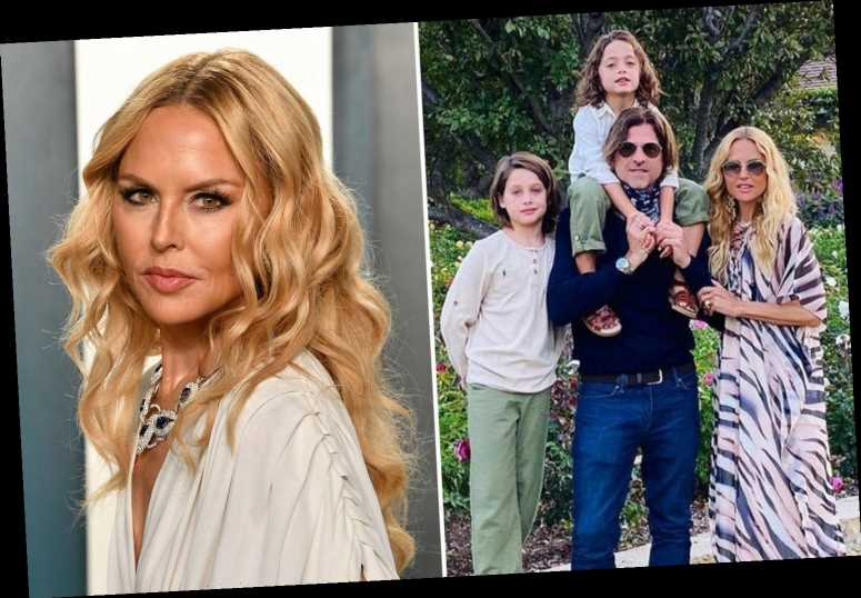 Who is Rachel Zoe and how many children does she have?