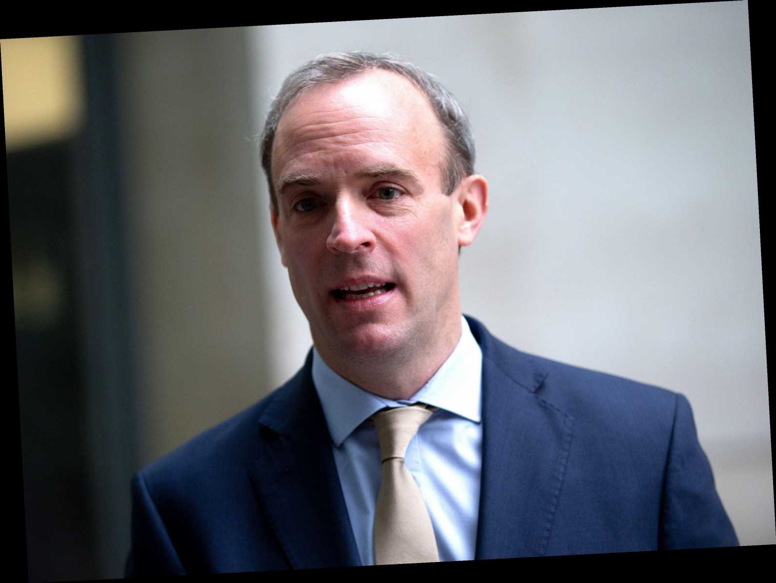 Dominic Raab says Brexit deal will boost all four nations of 'precious union' as SNP blasts it a 'disaster for Scotland'