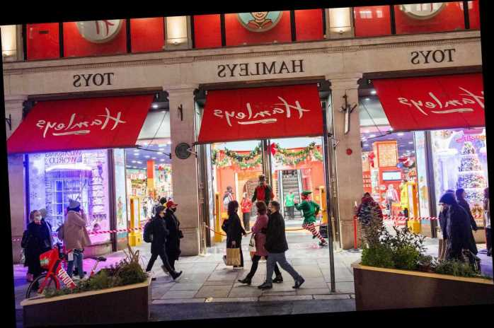Who owns Hamleys toy store in London?