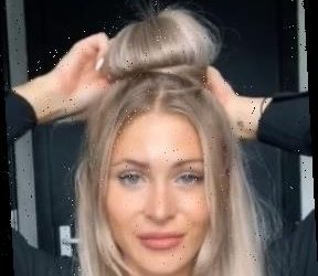 McDonald's lover shows how she uses milkshake lids to make a stylish bun in bizarre hair hack