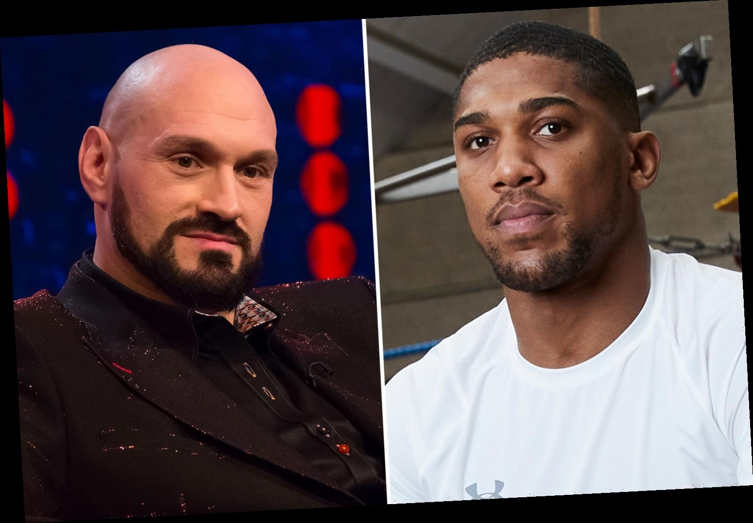 Anthony Joshua opens up on Tyson Fury fight and says 'I promise you it's happening' with purse 'split down the middle'