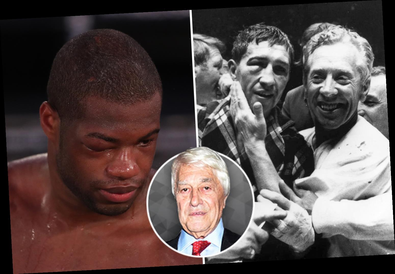 Daniel Dubois should watch greats like Muhammad Ali and Ken Buchanan to see why he is being dubbed a 'quitter'