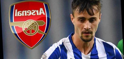 Arsenal ready to open talks over £27m transfer for Porto midfielder Fabio Vieira in January