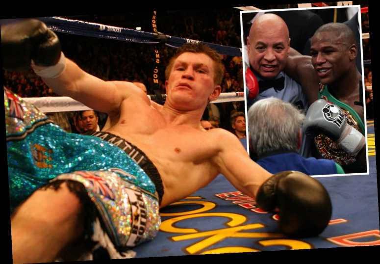 Ricky Hatton says he was cheated after Floyd Mayweather loss in 2007 and 'smelt a rat' in referee Joe Cortez