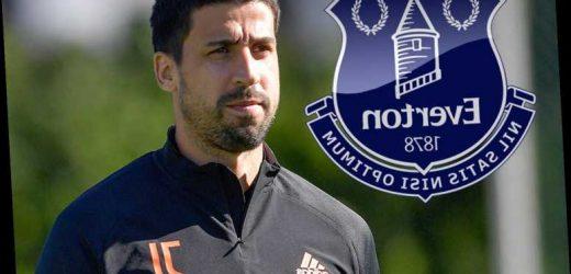 Everton targeting Juventus outcast Sami Khedira in shock transfer as Ancelotti eyes reunion with ex-Real Madrid ace