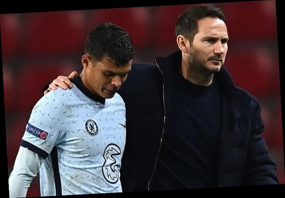 Frank Lampard in shock over Chelsea star Thiago Silva's quality aged 36 as defender 'exceeds' expectations in Prem