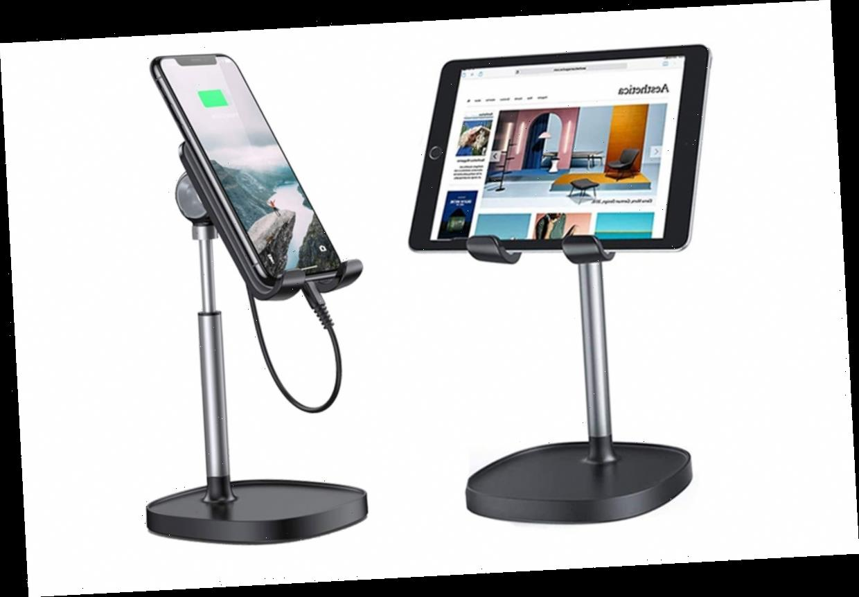 This $14 Phone Stand from Amazon Lets You Enjoy Hands-Free Video Calls with Your Loved Ones