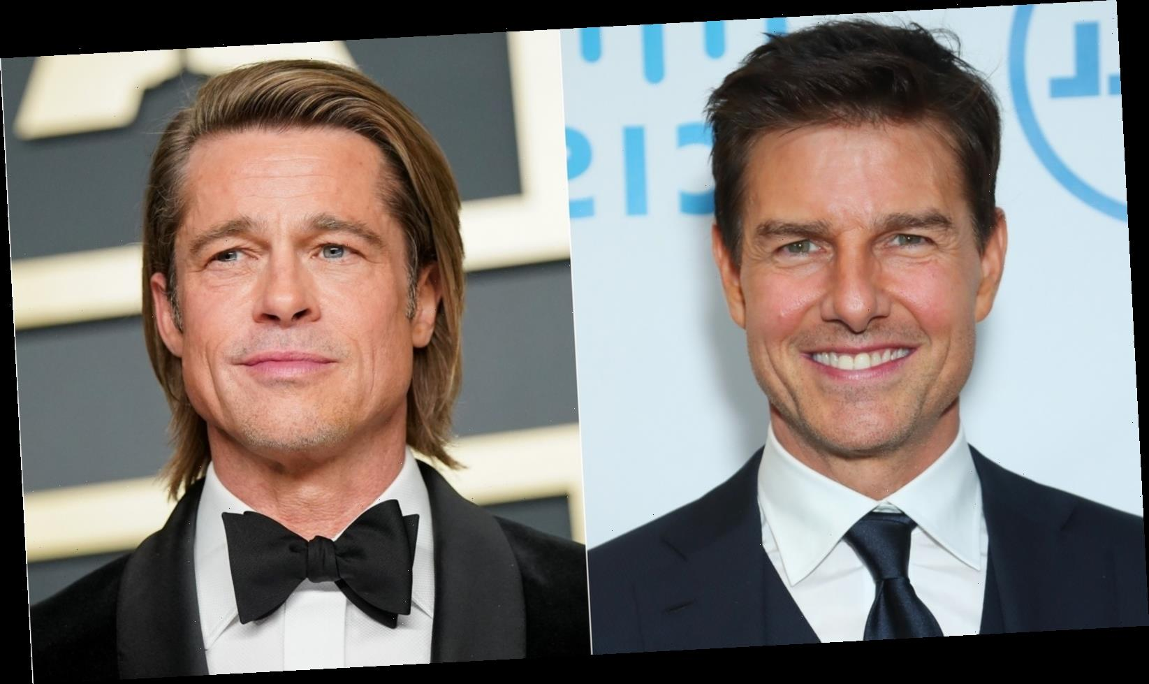 Tom Cruise And Brad Pitt Don't Get Along. Here's Why.