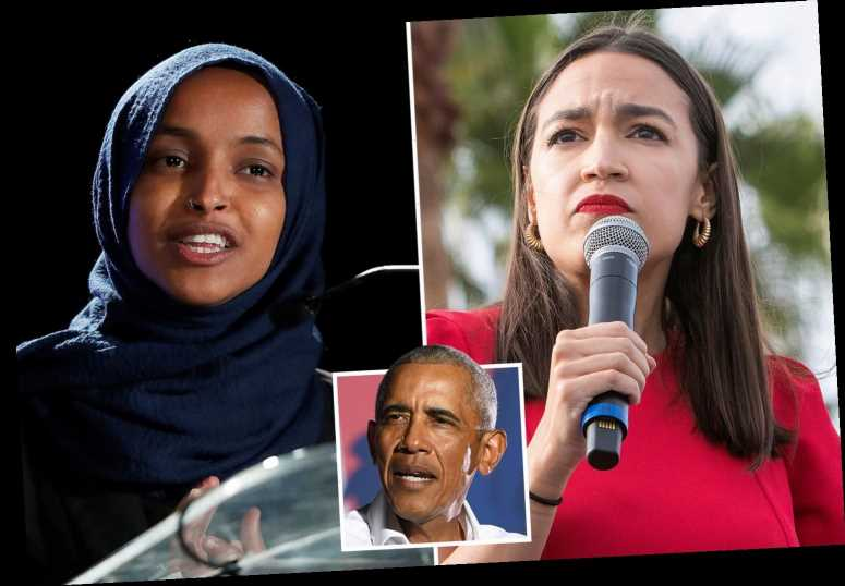 AOC and Ilhan Omar attack Obama for saying 'defund the police' is a 'snappy slogan' that would alienate voters