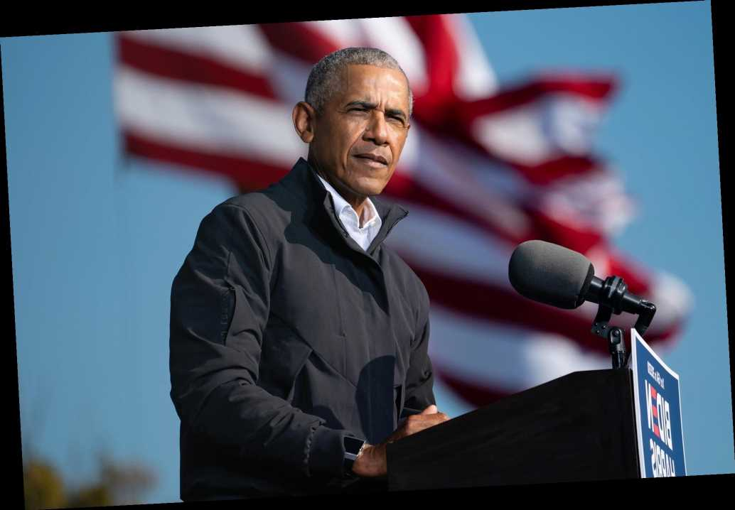 Barack Obama slams 'defund the police' as 'snappy' movement