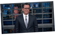 Stephen Colbert Imagines What 'The Late Show' Will Look Like In 2021, Reveals Benign Positional Vertigo Diagnosis