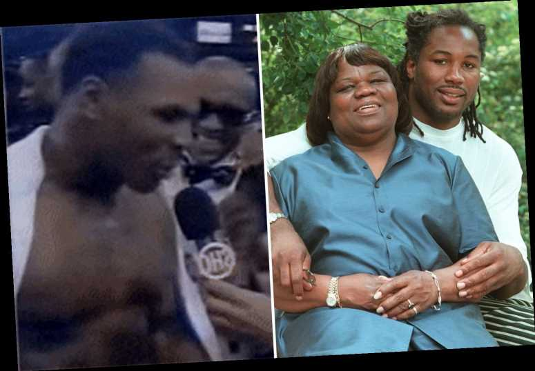 Lennox Lewis reveals mum's hilarious comeback after Mike Tyson warned heavyweight champ 'I want to eat your children'