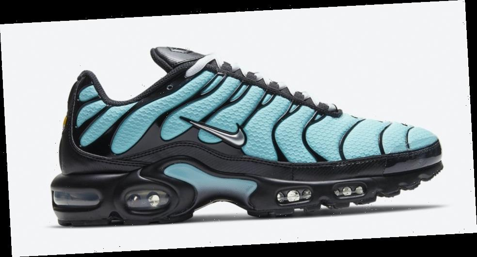 """Nike Air Max Plus' New Teal Colorway Gives Off """"Tiffany"""" Vibes"""