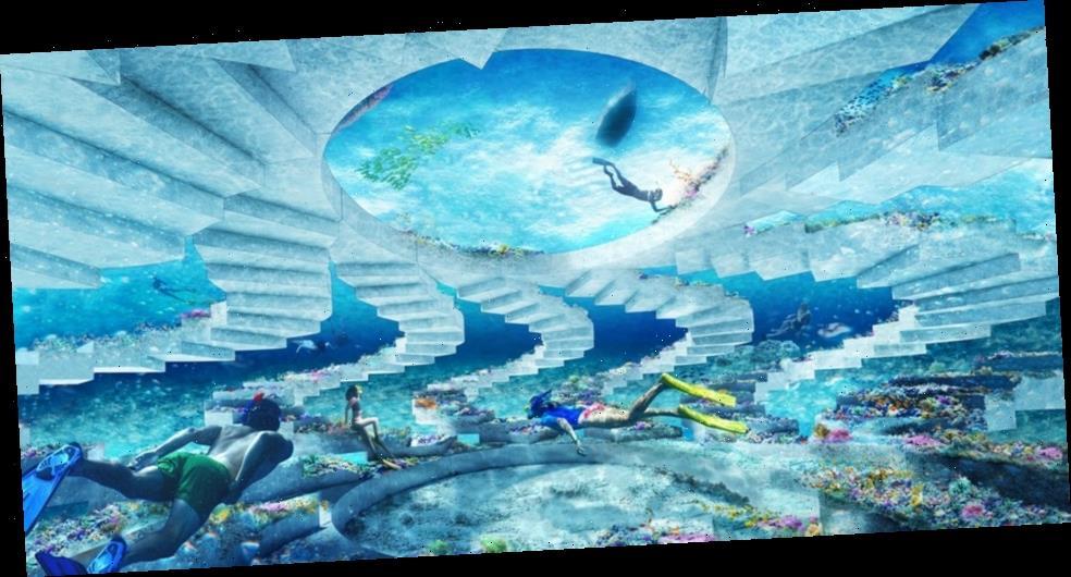 OMA Designs Miami Beach's First Underwater Sculpture Park