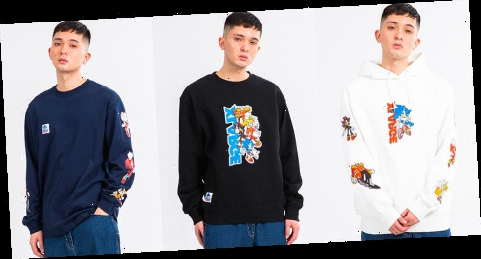 'Sonic the Hedgehog' and XLARGE Celebrate 30th Anniversaries With New Collaboration