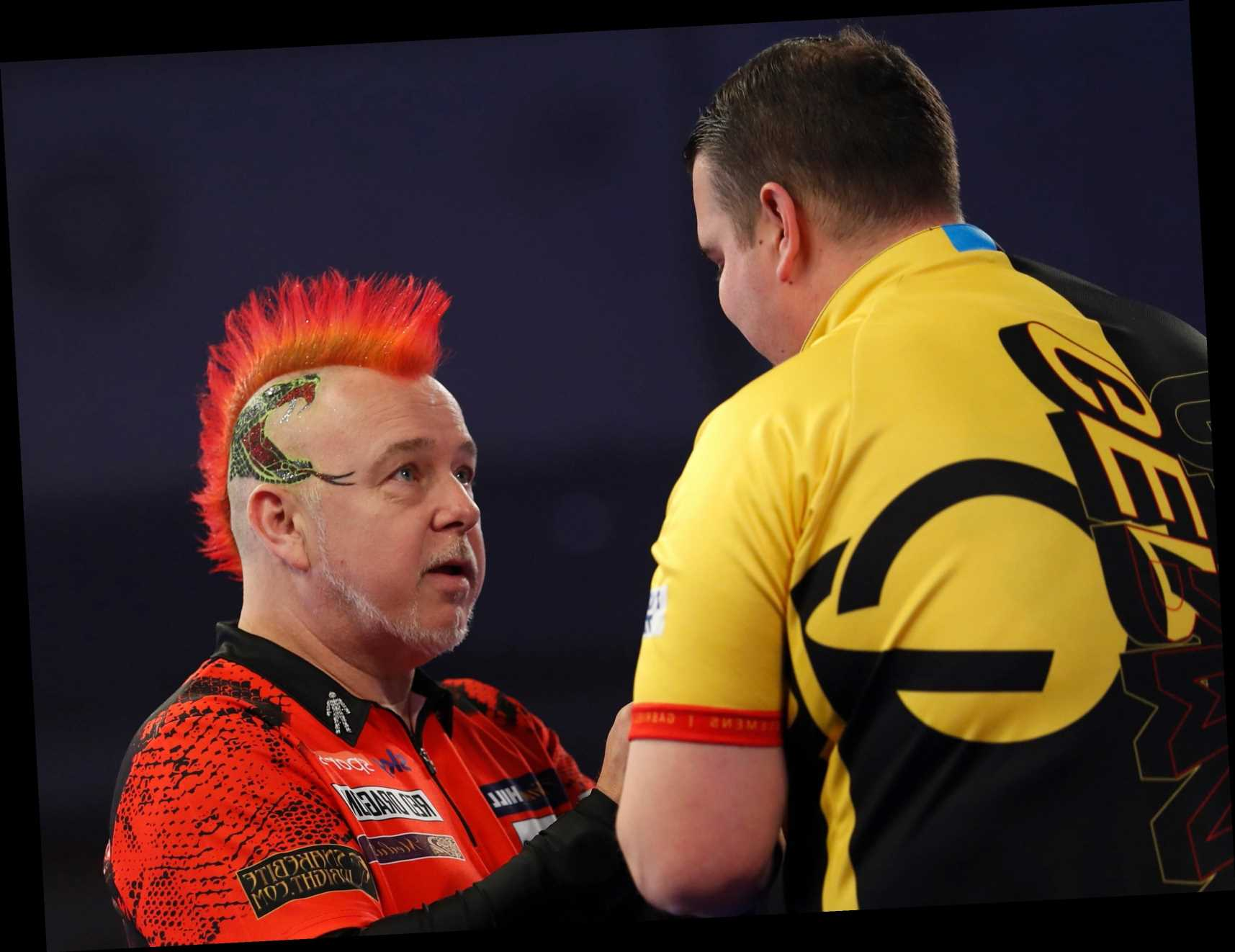 PDC World Darts Championship: Defending champion Peter Wright suffers shock third-round exit