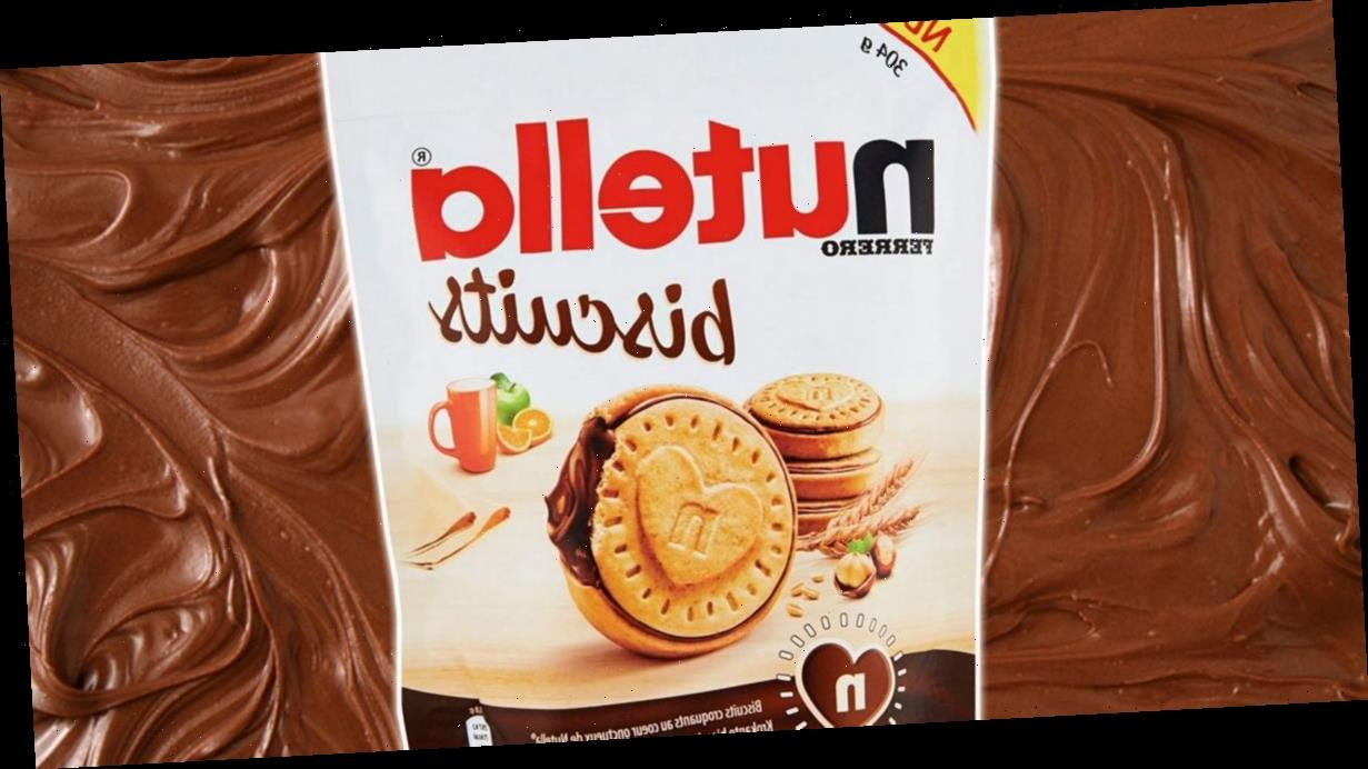 Nutella launches biscuits filled with hazelnut spread – and they sound awesome