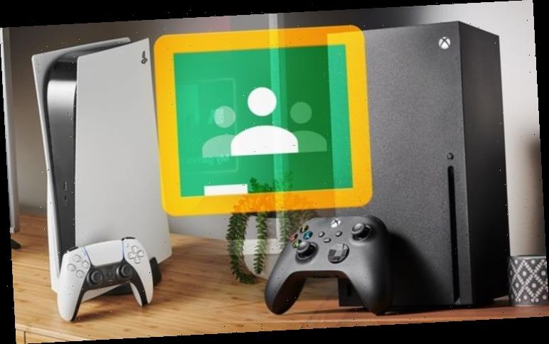 How to access Google Classroom from an Xbox or Playstation