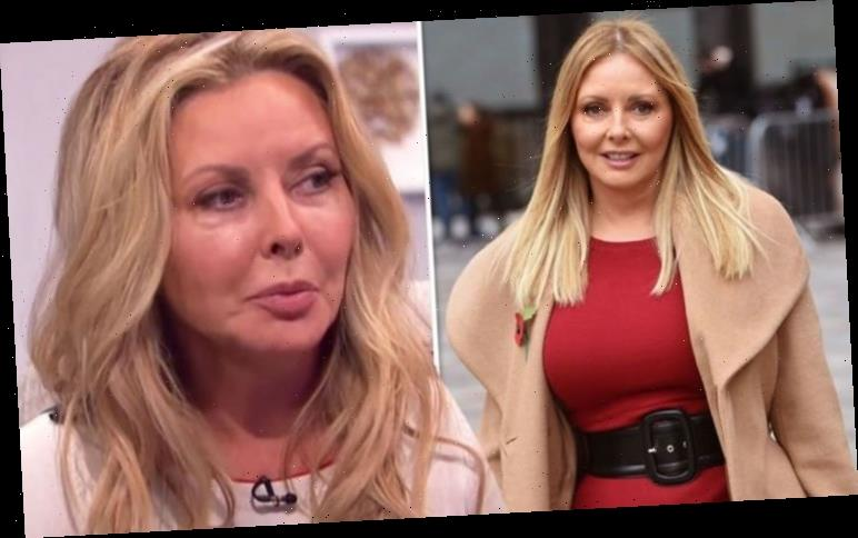 Carol Vorderman addresses embarrassing food blunder in front of ITV boss 'Didn't realise'