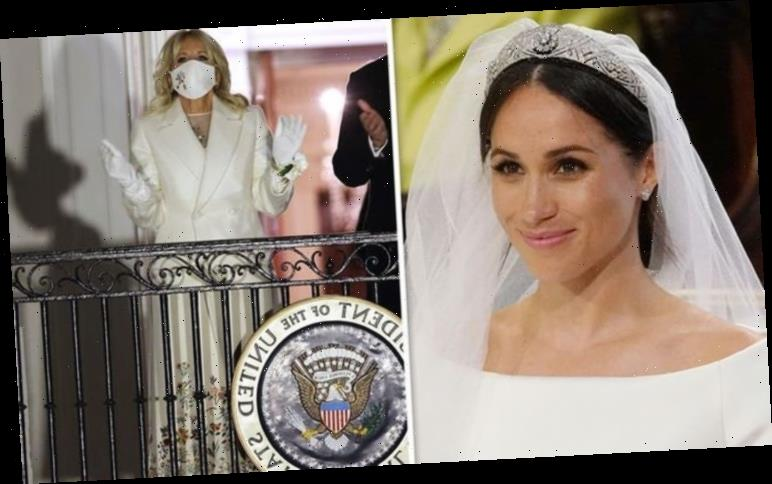 Meghan Markle wedding dress: Did Duchess inspire Jill Biden's inauguration outfit?