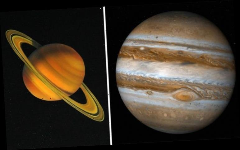 Saturn and Jupiter in conjunction – NASA satellite images show where gas giants are now