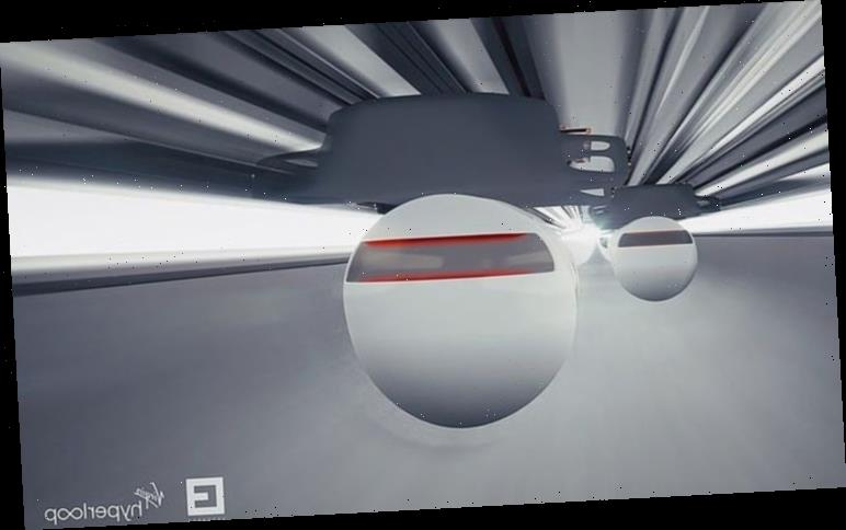 Virgin Hyperloop shares 'glimpse into the future' of passengers travelling at 670mph